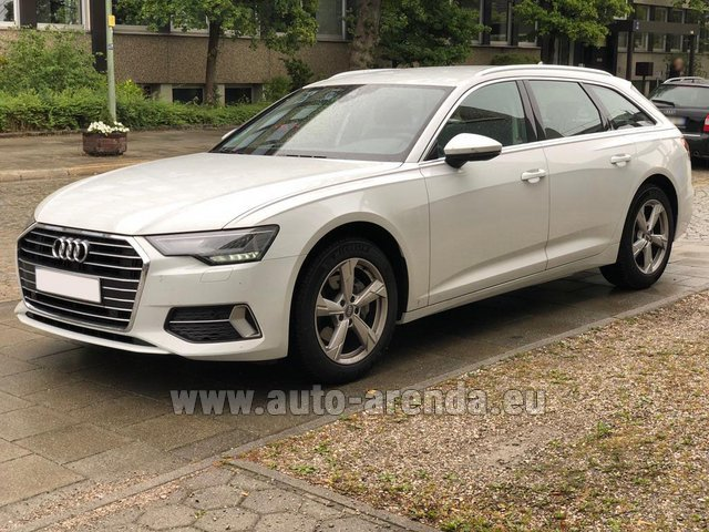 Rental Audi A6 40 TDI Quattro Estate in Menton