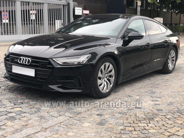 Rental Audi A7 50 TDI Quattro Equipment S-Line in French Riviera Cote d'Azur