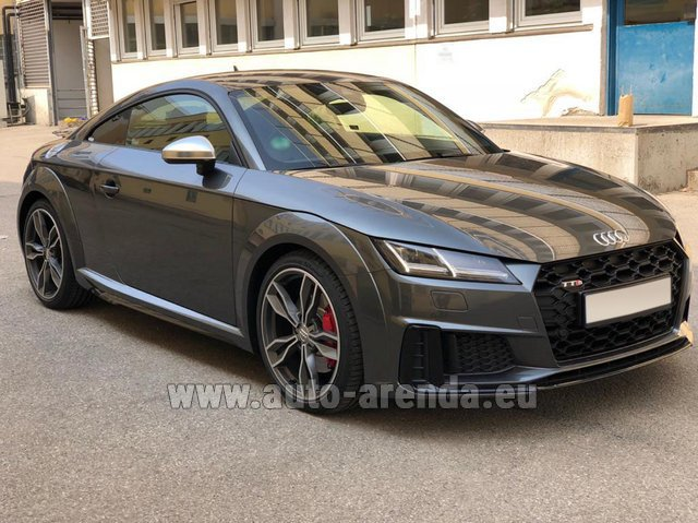 Rental Audi TTS Coupe in Antibes