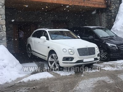Bentley Bentayga 6.0 litre twin turbo TSI W12 для трансферов из аэропортов и городов во Французской Ривьере на Лазурном берегу и Европе.