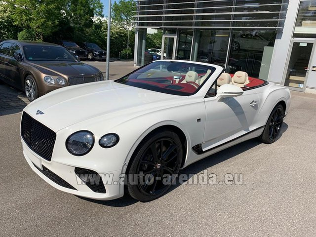 Rental Bentley GTC W12 First Edition in Menton