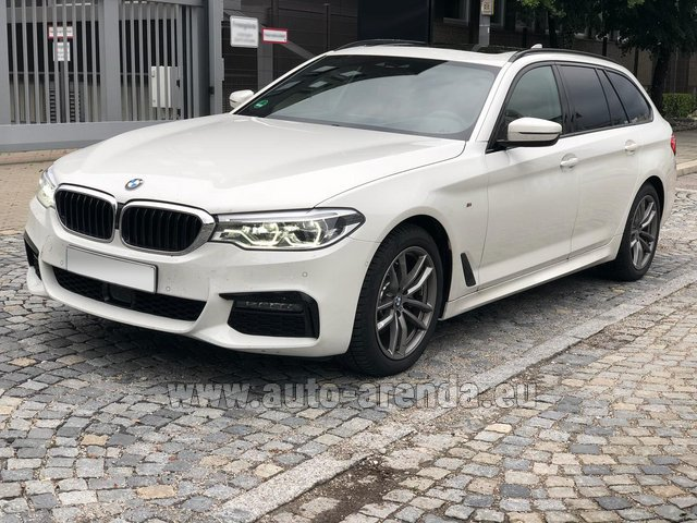 Rental BMW 520d xDrive Touring M equipment in French Riviera Cote d'Azur