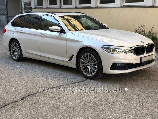 Hire and delivery to the Nice airport the car: BMW 5 Touring Equipment M Sportpaket