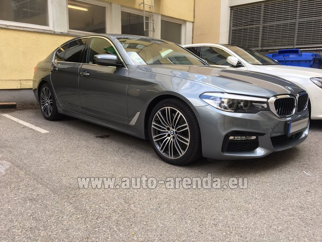 Hire and delivery to the Nice airport the car: BMW 540i M