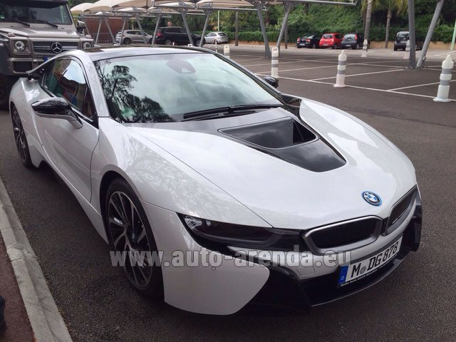 Hire and delivery to the Nice airport the car: BMW i8 Coupe Pure Impulse