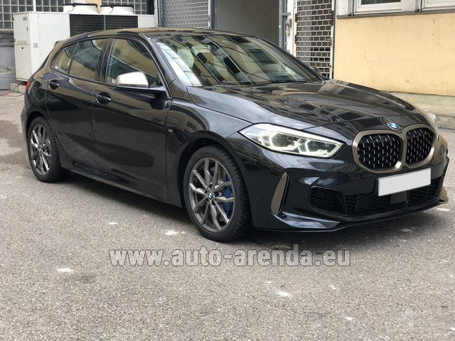 Rental BMW M135i XDrive in French Riviera Cote d'Azur