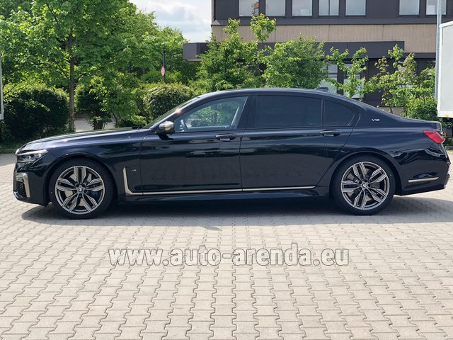 Rental BMW M760Li xDrive V12 in French Riviera Cote d'Azur