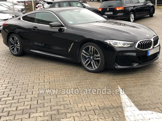 Hire and delivery to the Nice airport the car: BMW M850i xDrive Coupe