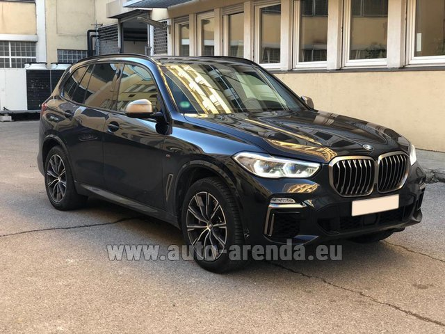 Rental BMW X5 M50d XDRIVE in French Riviera Cote d'Azur