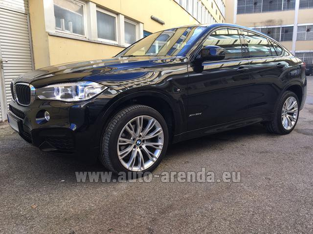 Hire and delivery to the Nice airport the car: BMW X6 3.0d xDrive High Executive M Sport