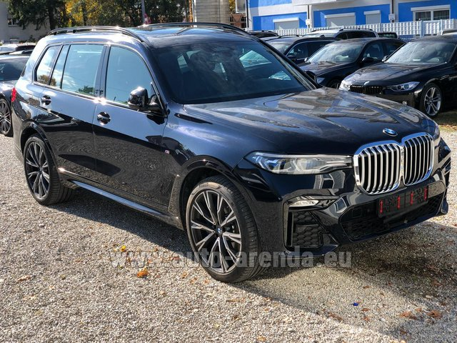 Rental BMW X7 xDrive40i in French Riviera Cote d'Azur