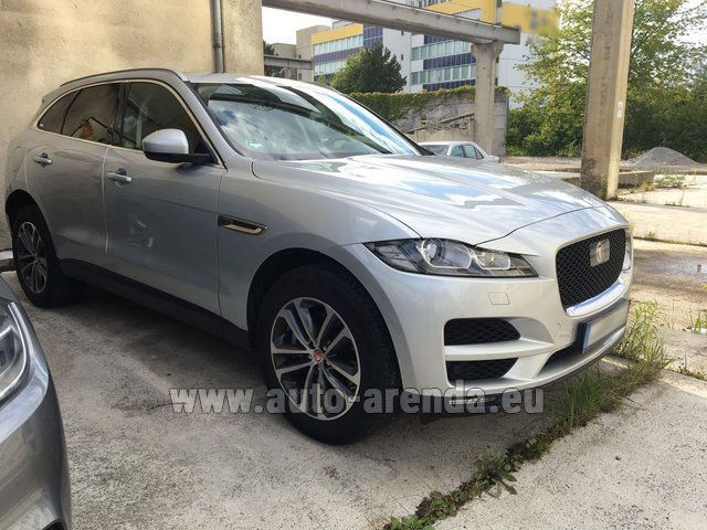Rental Jaguar F-Pace in French Riviera Cote d'Azur