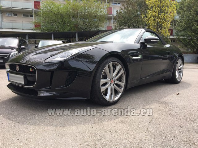 Rental Jaguar F Type 3.0L in Menton