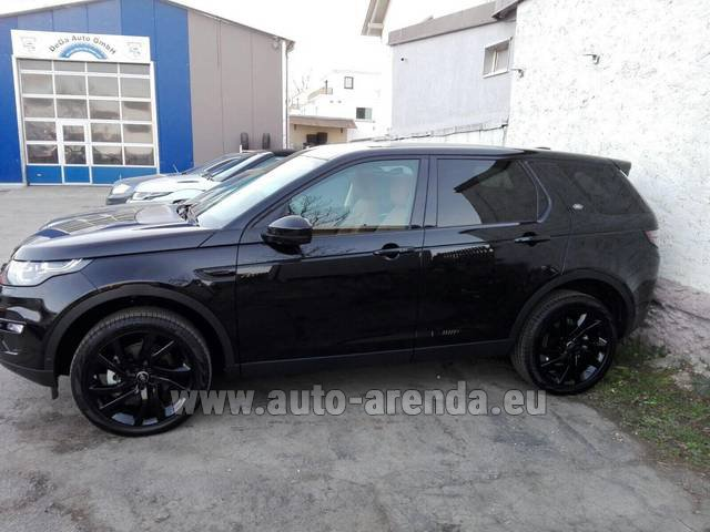 Rental Land Rover Discovery Sport HSE Luxury (5 Seats) in Antibes