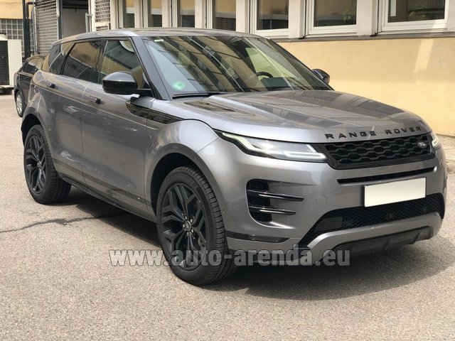 Hire and delivery to the Cannes airport the car Land Rover Range Rover Evoque D180SE