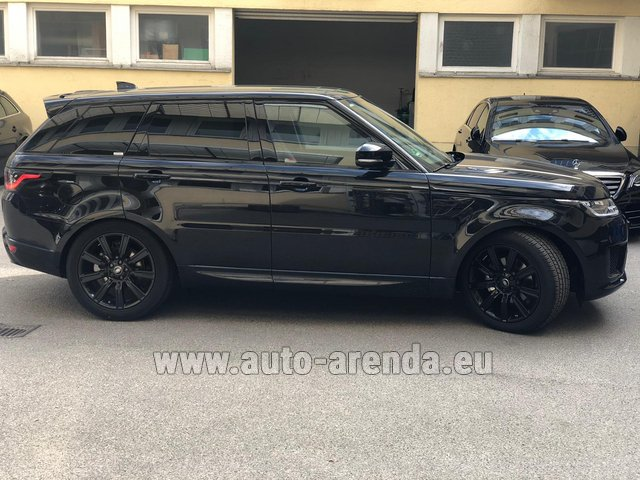 Rental Land Rover Range Rover Sport in Antibes