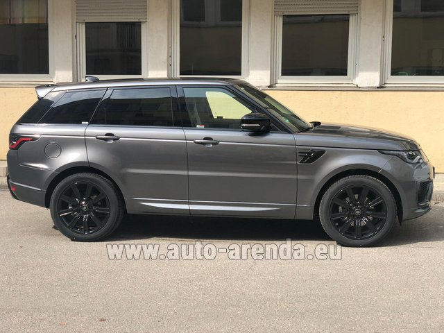 Rental Land Rover Range Rover Sport SDV6 Panorama 22 in Antibes