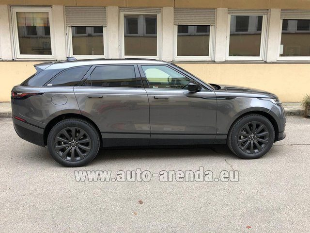 Rental Land Rover Range Rover Velar P250 SE in Antibes