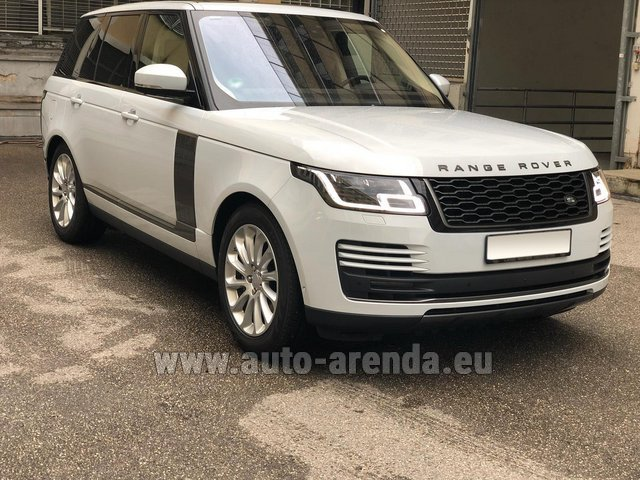 Прокат Ленд Ровер Range Rover Vogue P525 в Ментоне