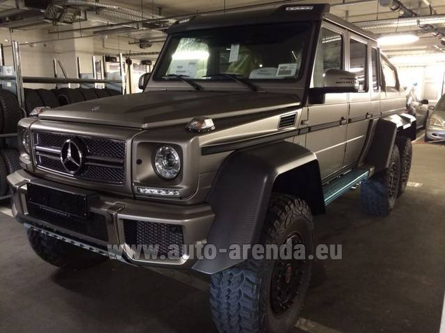 Rental Mercedes-Benz 6x6 AMG 6.3 in Nice