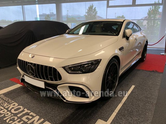 Rental Mercedes-Benz AMG GT 63 S 4-Door Coupe 4Matic+ in Nice