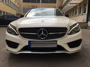 Rent-a-car Mercedes-Benz C-Class C43 AMG Biturbo 4MATIC White in Cagnes-sur-Mer, photo 2