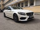 Rent-a-car Mercedes-Benz C-Class C43 AMG Biturbo 4MATIC White in Menton, photo 5