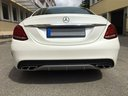 Rent-a-car Mercedes-Benz C-Class C43 AMG Biturbo 4MATIC White in Cagnes-sur-Mer, photo 6