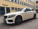 Rent-a-car Mercedes-Benz C-Class C43 AMG Biturbo 4MATIC White in Cagnes-sur-Mer, photo 1