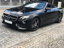 Rent-a-car Mercedes-Benz E-Class E220d Cabriolet AMG equipment in French Riviera Cote d'Azur, photo 1