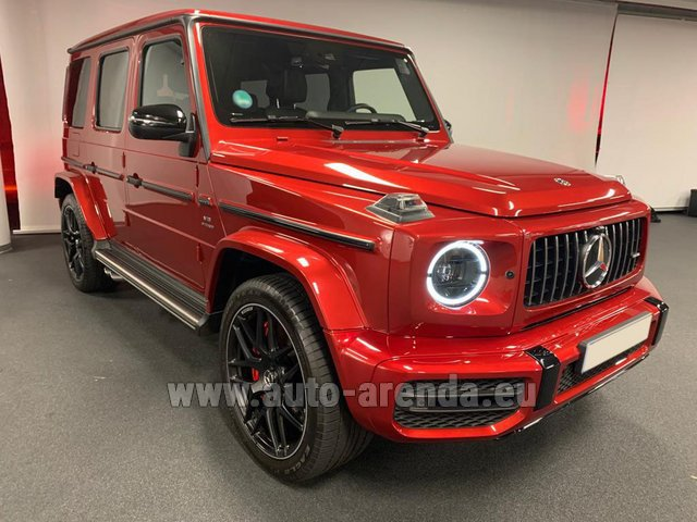 Rental Mercedes-Benz G 63 AMG biturbo in Nice