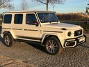 Rent-a-car Mercedes-Benz G 63 AMG White in Antibes, photo 1
