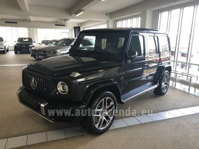Rental Mercedes-Benz G63 AMG V8 biturbo in Nice