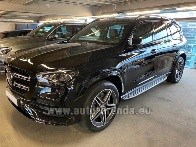 Rental Mercedes-Benz GLS 400d BlueTEC 4MATIC equipment AMG in Nice