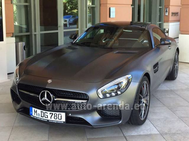 Rental Mercedes-Benz GT-S AMG in Beaulieu-sur-Mer