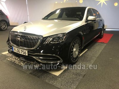 Maybach/Mercedes S 560 Extra Long 4MATIC AMG equipment