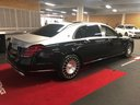 Прокат автомобиля Maybach S 560 4MATIC комплектация AMG Metallic and Black в Антибе, фото 4