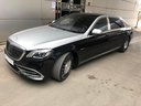 Прокат автомобиля Maybach S 560 4MATIC комплектация AMG Metallic and Black в Больё-Сюр-Мере, фото 3