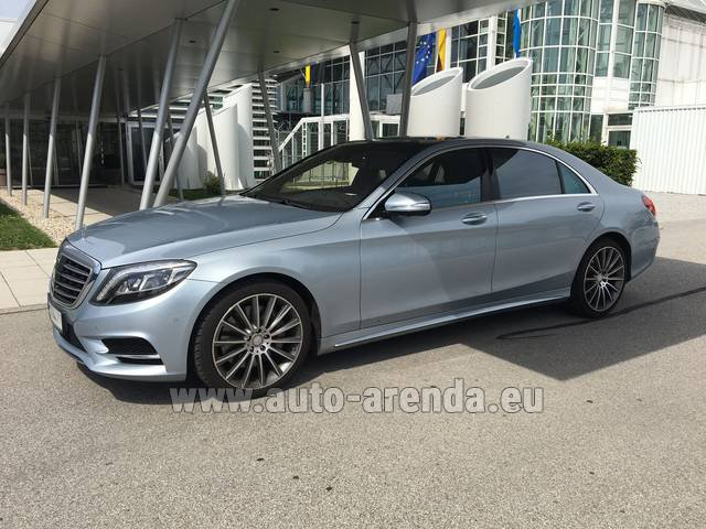 Прокат Мерседес-Бенц S 350 L BlueTEC 4MATIC AMG во Французской Ривьере на Лазурном берегу