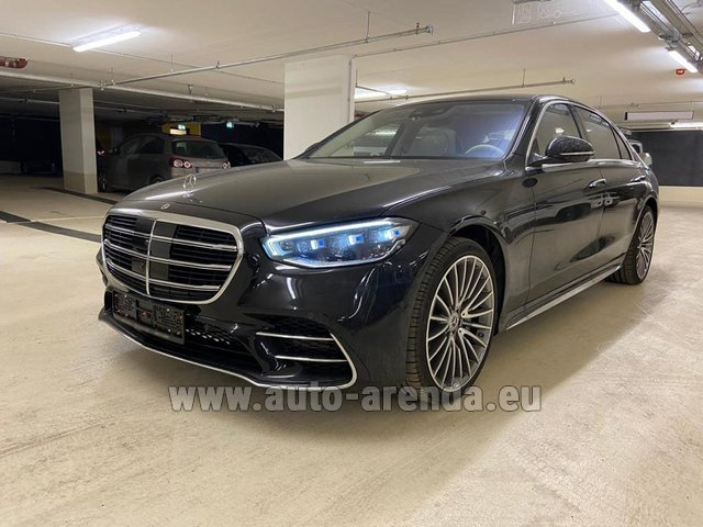 Rental Mercedes-Benz S 500 4MATIC Sedan long in Cagnes-sur-Mer