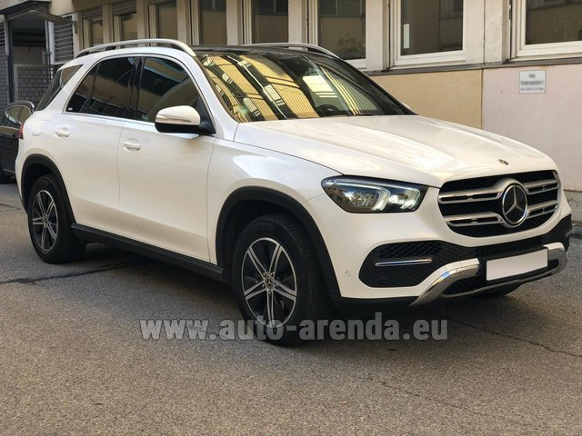 Rental Mercedes-Benz GLE 350 4Matic AMG equipment in Nice
