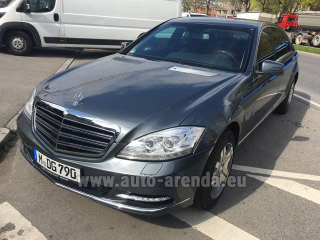 Прокат Мерседес-Бенц S 600 L B6 B7 Guard FACELIFT во Французской Ривьере на Лазурном берегу