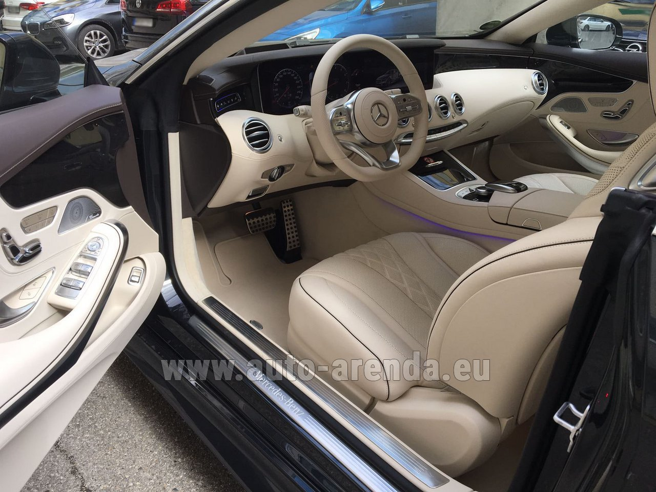 cavalaire sur mer mercedes benz s class s 560 4matic coupe rental. Black Bedroom Furniture Sets. Home Design Ideas