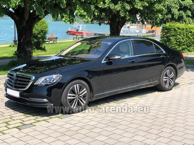 Rental Mercedes-Benz S-Class S400 Long 4Matic Diesel AMG equipment in Nice