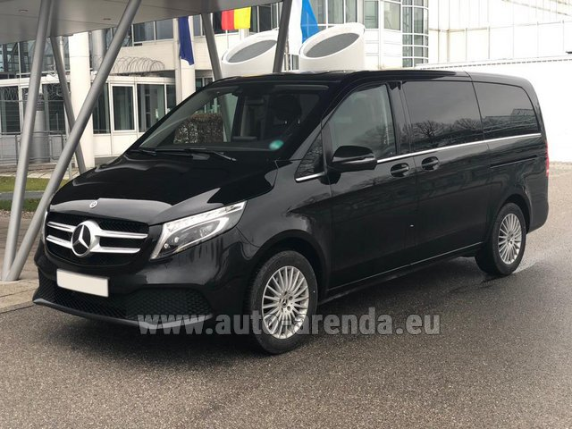 Rental Mercedes-Benz V-Class (Viano) V 300 d 4MATIC AMG equipment in Beaulieu-sur-Mer