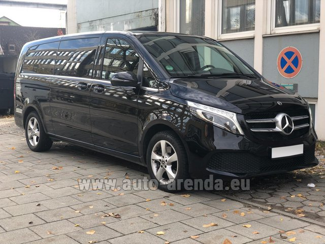Rental Mercedes-Benz V-Class V 250 Diesel Long (8 seater), new model 2020 in Menton