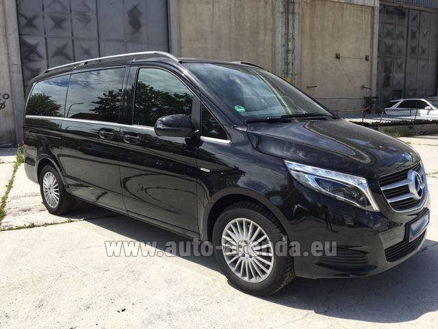 Rental Mercedes-Benz V-Class (Viano) V 250 Long 8 seats in Beaulieu-sur-Mer
