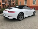 Rent-a-car Porsche 911 Carrera 4S Cabrio in Nice, photo 4