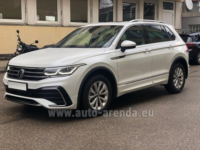 Hire and delivery to the Cannes airport the car Volkswagen Tiguan R Line 2.0 TSI 333 hp