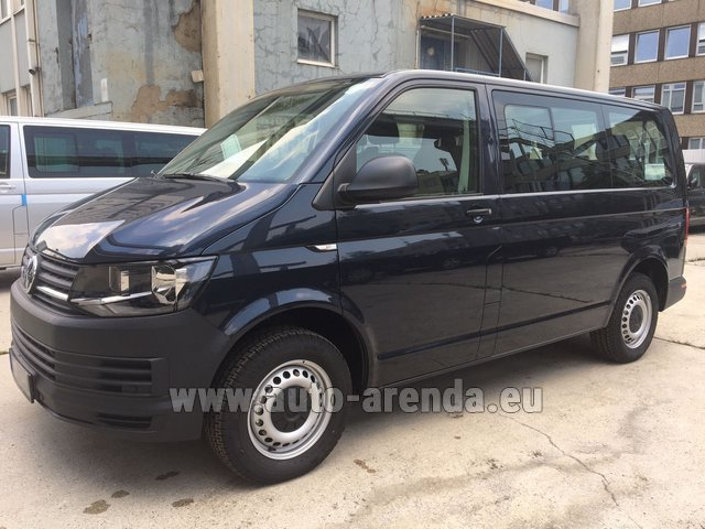 Rental Volkswagen Transporter T6 (9 seater) in Beaulieu-sur-Mer